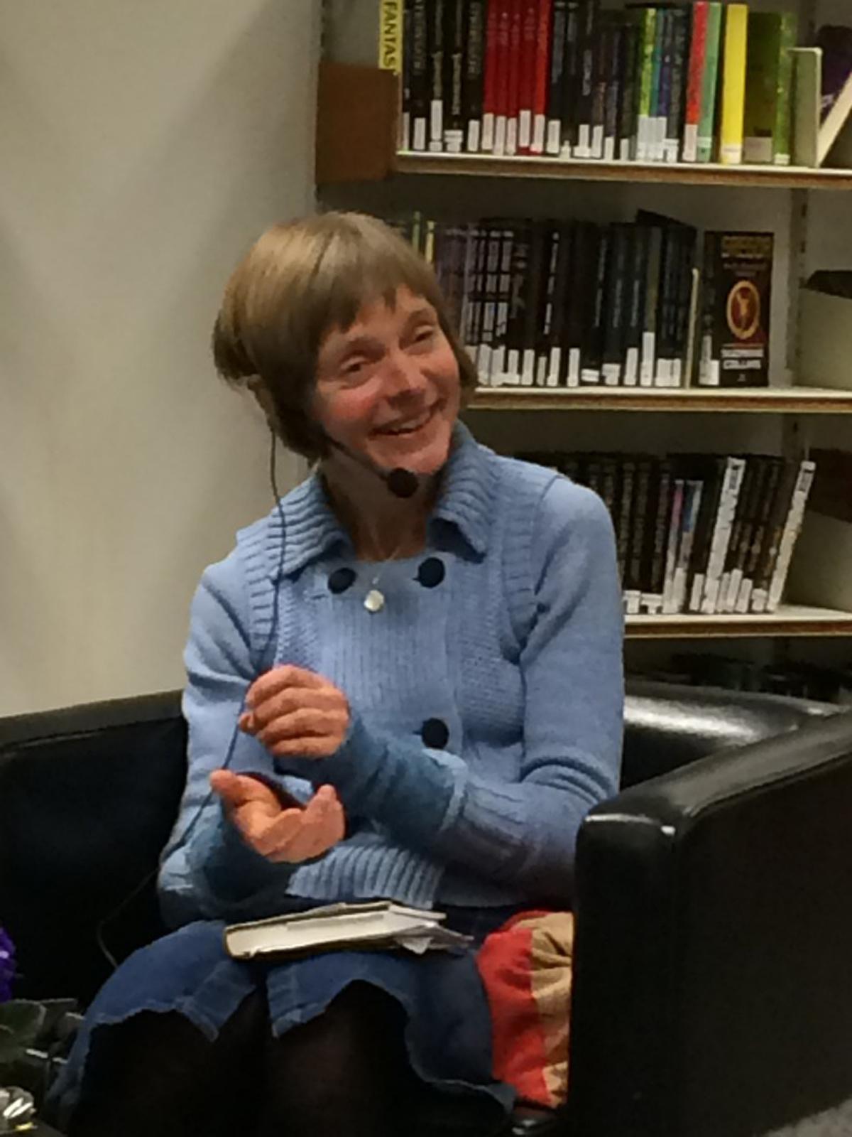 Forfattermøte: Kristine Næss